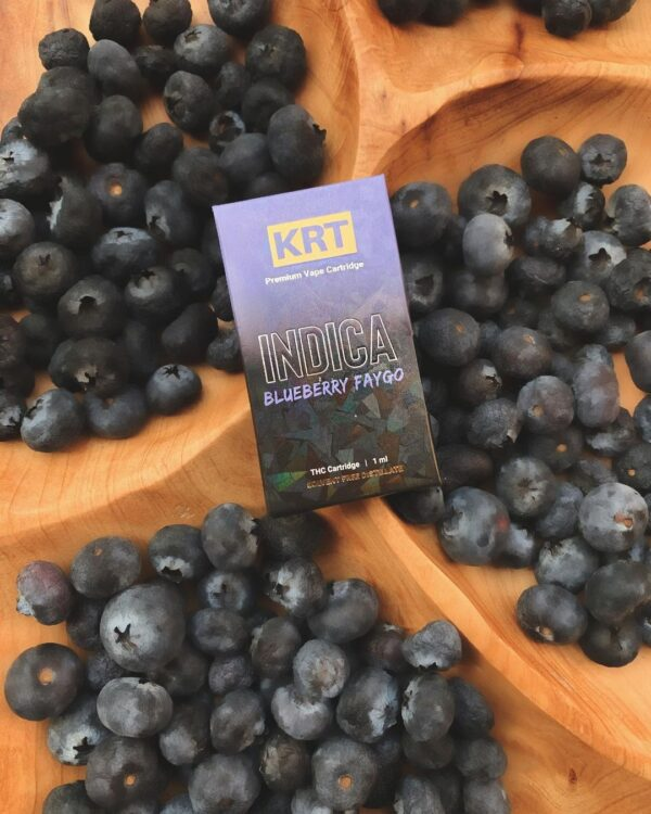 Krt Blueberry Faygo, krt carts for sale, indica krt carts