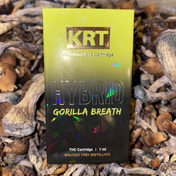 Krt Gorilla Breath, krt carts, krt vapes, krt carts website