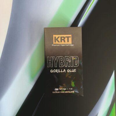 Krt Gorilla Glue, krt carts, krt vapes, krt carts for sale, krt vapes, krt Carts website