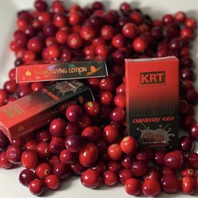 Krt cranberry kush, krt carts, krt vapes