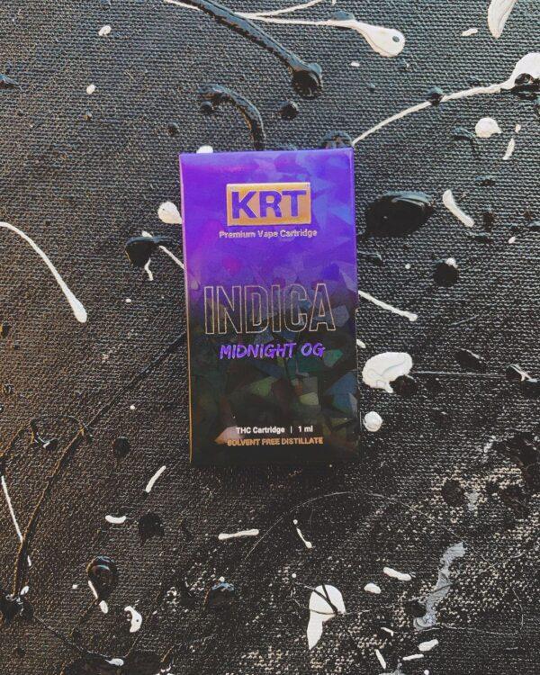 Krt Midnight OG, krt carts, krt carts website, krt vapes, krt carts for sale