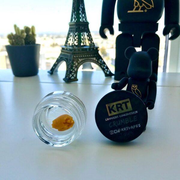 krt crumble, cannabis concentrates